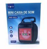 MINI CAIXA DE SOM - 115 PTS